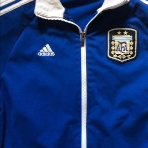 adidas Jackets & Coats - Rare Argentina National Team Full-Zip Track Jacket